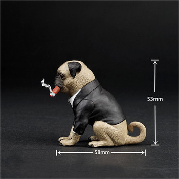 16-scale-pet-dog-model-toy-suit-cigar-dog-props-lovely-pug-cute-action-figures-scene-toy-accessories-children-kids-fun-gift