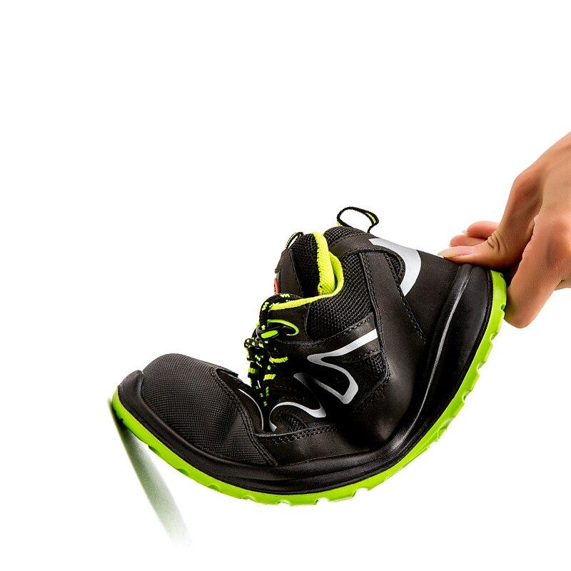 Trabalho Dos Preto Segurança Do Mans Inglaterra Toe Ao Caps Confortável De Trabalhador Da Botas Casual Sapato Livre Estilo Calçados Ar Construção Homens Steel qxgFvEB