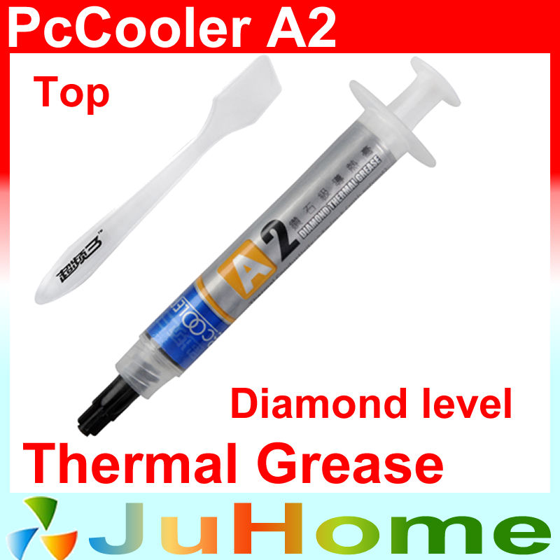 Diamond Level thermal paste silicone grease, Processor cooling thermal paste overclocking dedicated, PcCooler A2 wavelets processor