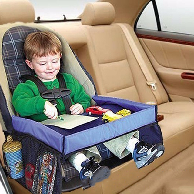 Baby Waterproof Table Car Seat Tray Storage High Quality Kids Infant Stroller Holder For Children