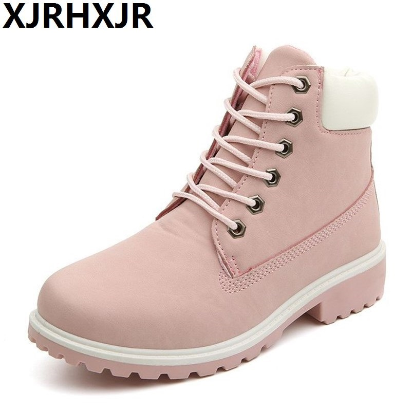 Shoes Women Boots Fashion Lace Up Chelsea Boots Martin Boots High Quality Winter Flat Ankle Boots Big Size 36-41 z suo brand new winter women motocycle boots leather lace up ankle martin boots shoes black brown high quality