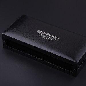 Image 5 - יוקרה שחור תיבת רולר עט זהב קליפ מלא מתכת ג ל עט כבד מרגיש טוב באיכות לקבל 3 מילוי משלוח