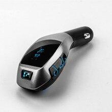 2016 X 5 Bluetooth Handsfree FM передатчик автомобильный комплект mp3-плеера радио адаптер работа с карты памяти у диска для iPhone смартфон