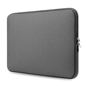 Image 5 - Tüm satış 1 adet dizüstü su geçirmez çanta kılıfı dizüstü vaka Lenovo Macbook Air 11 12 13 14 15 15.6 inç kapak Pro fermuarlı çanta
