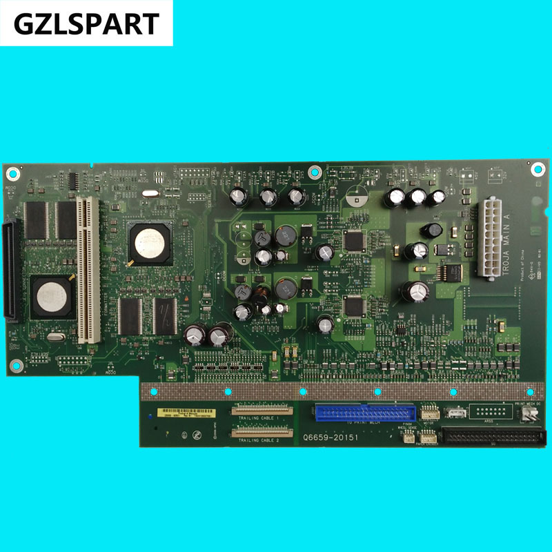 FORMATTER PCA ASSY Formatter Board logic Main Board MainBoard for HP Design Jet Z2100 Q6675-60096 Q6659-60151 Q6675-60072 44in