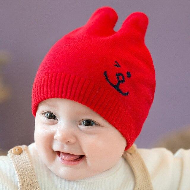 a5e8f3c9a631 baby hat winter cap kids girls boys hats toddler girl bonnet boy ...