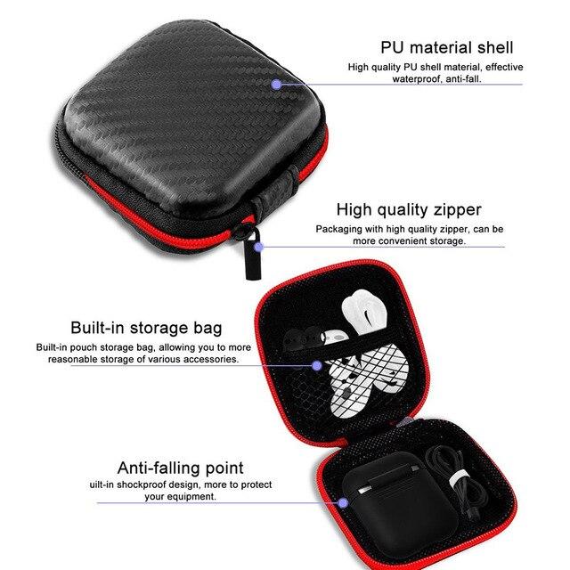Tendway 5 sztuk/zestaw krzemu skrzynka dla Apple AirPods akcesoria dla Apple słuchawki silikonowy pasek pokrywa wskazówka hak dla Airpods