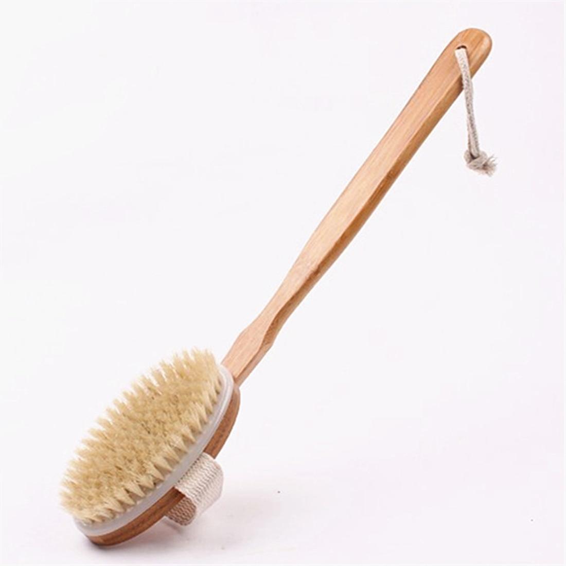 41cm Bath Brush For Back Bristles Scrubber Long Handle