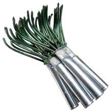 Новые продукты, сельскохозяйственная углеродистая сталь, четыре зубчатые зубья грабли, маленькая ручка, арахиса, газон, лист, пинцет, садовые инструменты