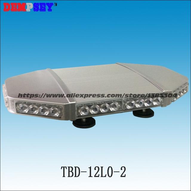 Mini barre lumineuse rouge | De haute qualité mini barre lumineuse rouge/barre lumineuse stroboscopique/base magnétique lourde,/corps en aluminium/DC12V/24V