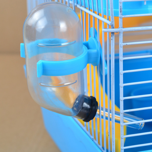 Хомяк водяная мышь воды питьевой пробки питатель Pet крыса цилиндрическая клетка бутылка посуда для животных