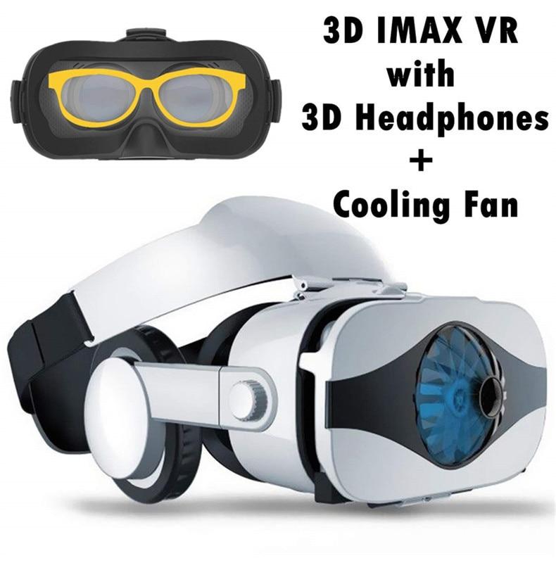 proteção da realidade virtual com ventilador &