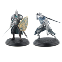Elsadou Classical Game Dark Souls Action Figures Faraam Knight Artorias The Abysswalker PVC Doll Toys 18cm