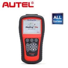 [Разрешение Дистрибьютор] Autel Maxidiag Elite MD802 Все система + DS Модель Полный Система DS + EPB + МНК + Поток данных Диагностический Инструмент