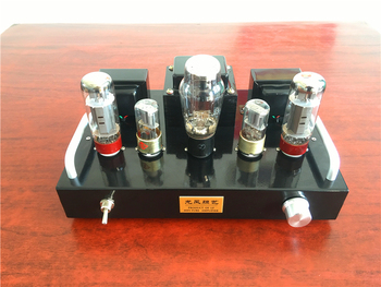 DIY HIFI 6N9P EL34 Spartan X1 6.5W+6.5W Tube Amplifier Kit Stereo Vacuum Tube Power Amp DIY KIT himing rivals el34 aluminum tube amplifier hifi exquis headphone output bluetooth handmade scaffolding panel rhel34apb