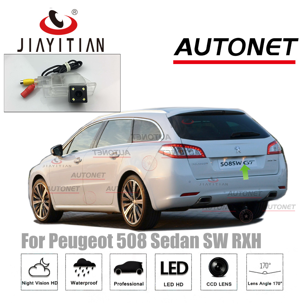 JIAYITIAN Rear View Camera For Peugeot 508 sedan 508 SW 508 RXH 2011~2018 Night Vision CCD/ Backup Camera license plate camera все цены