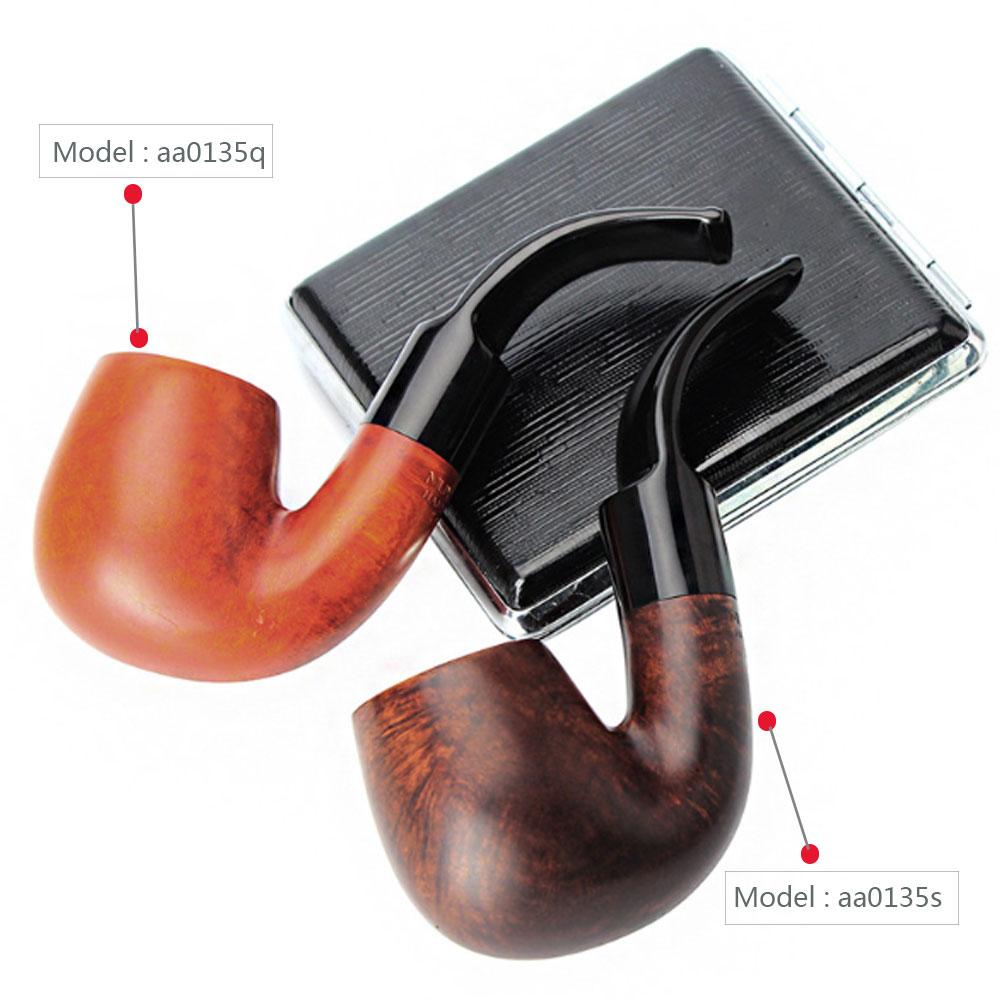 2018 nouveau fait à la main Portable cigarette Bruyere tuyaux cigare 9mm journal Portable fumer tabac tuyau aa0135-in Pipes à tabac et accessoires from Maison & Animalerie    1
