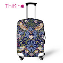 Thiikin Chinese Style Pattern Travel Luggage Cover  School Trunk Suitcase Protective Bag Protector Jacket