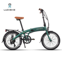 7 Speeds, 36V/7.8A, 250W, V brake, 20″, Folding Electric Bicycle, Lithium Battery, Aluminum Alloy Frame, Max Speed 25km/h