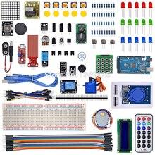 Mega 2560 r3 starter kit motor servo RFID arduino için Ultrasonik Değişen röle LCD