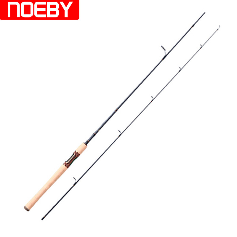 NOEBY 1.93m Power:L/UL Trout Spinning Fishing Rod 99% Carbon FUJI Guide 1-7g/3-10g Lure Weight Fishing Rods Vara De Pescar Peche 10g 99 99