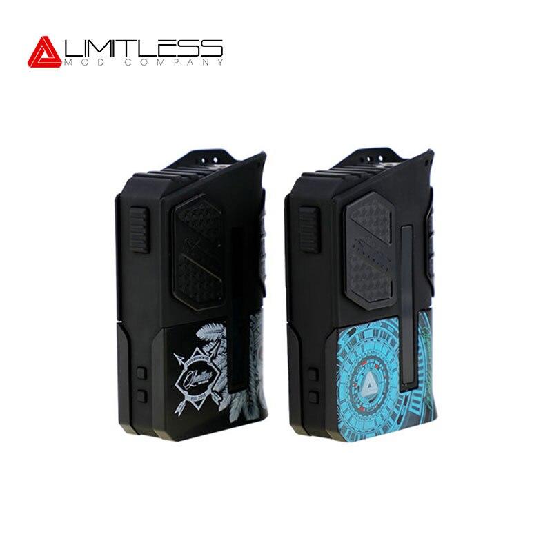 Auténtico ilimitada carrera V 2 Caja Mod LMC alimentado por batería Dual 18650 para Elektronik Sigara vaporizador VS Smoant RABOX Mini