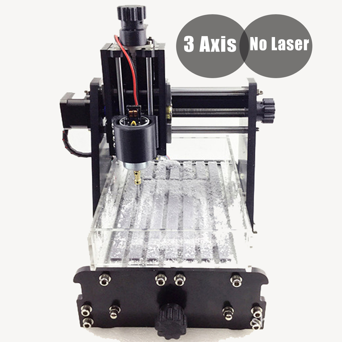 DIY мини гравировка машина 3 Axis ЧПУ гравировка резки ПВХ фрезерный станок гравер без Лазерная 100 В 240 В древесины маршрутизатор
