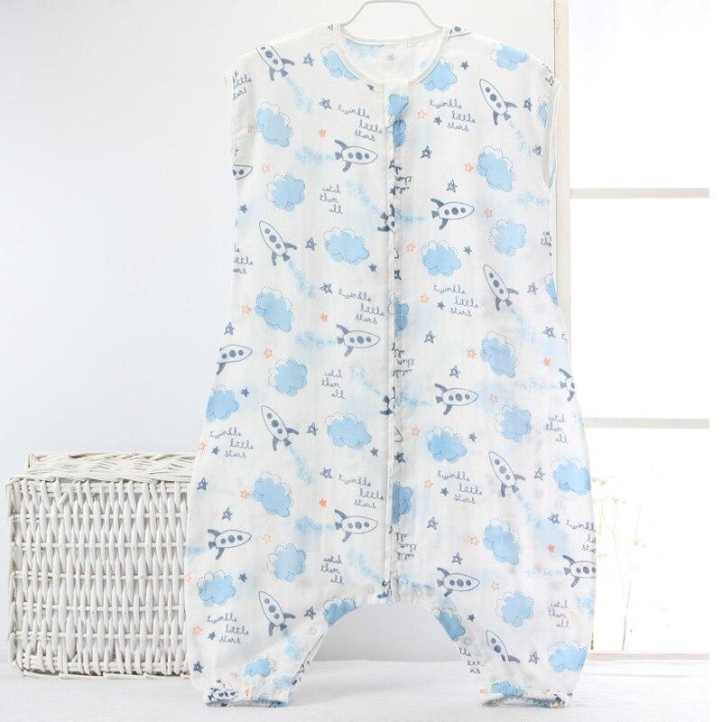 0cf80c489 Nuevo 0 5Years bebé bolsa de muselina de algodón sin mangas dormir ware los  niños chico unicornio de saco de dormir del bebé ropa de dormir del Bebé  Ropa en ...