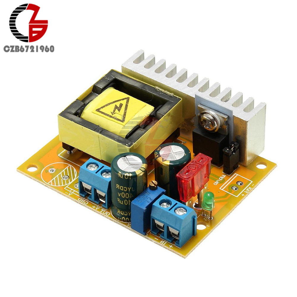 цена на DC-DC 8-32V to 45V-390V Step Up Boost Converter Power Transformer Module ZVS High Voltage Capacitor Charge Board