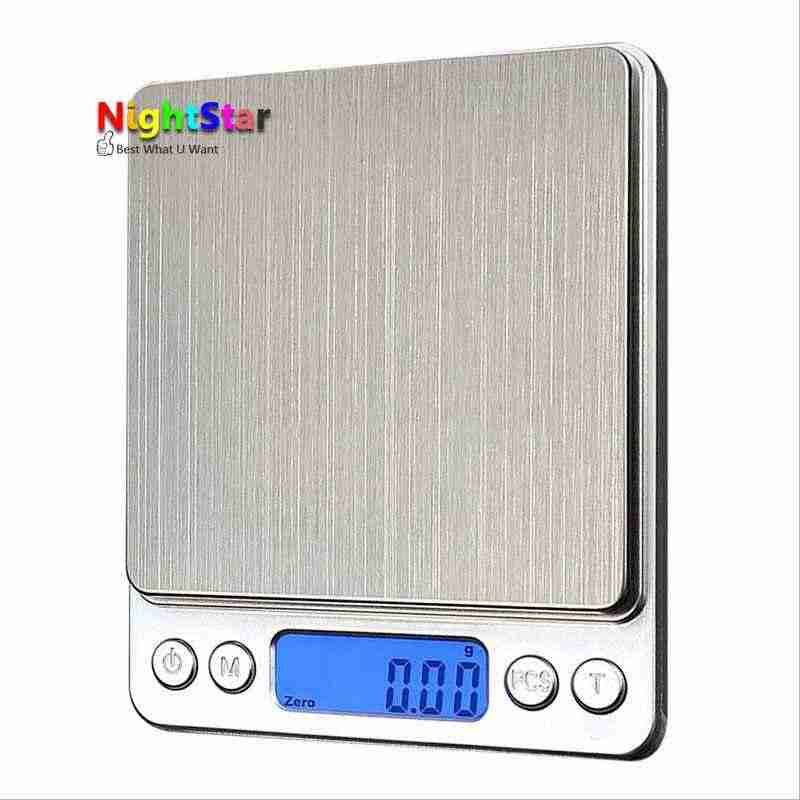3000g x 0.1g Digital Gram Scale Pocket Electronic Jewelry Weight Scale