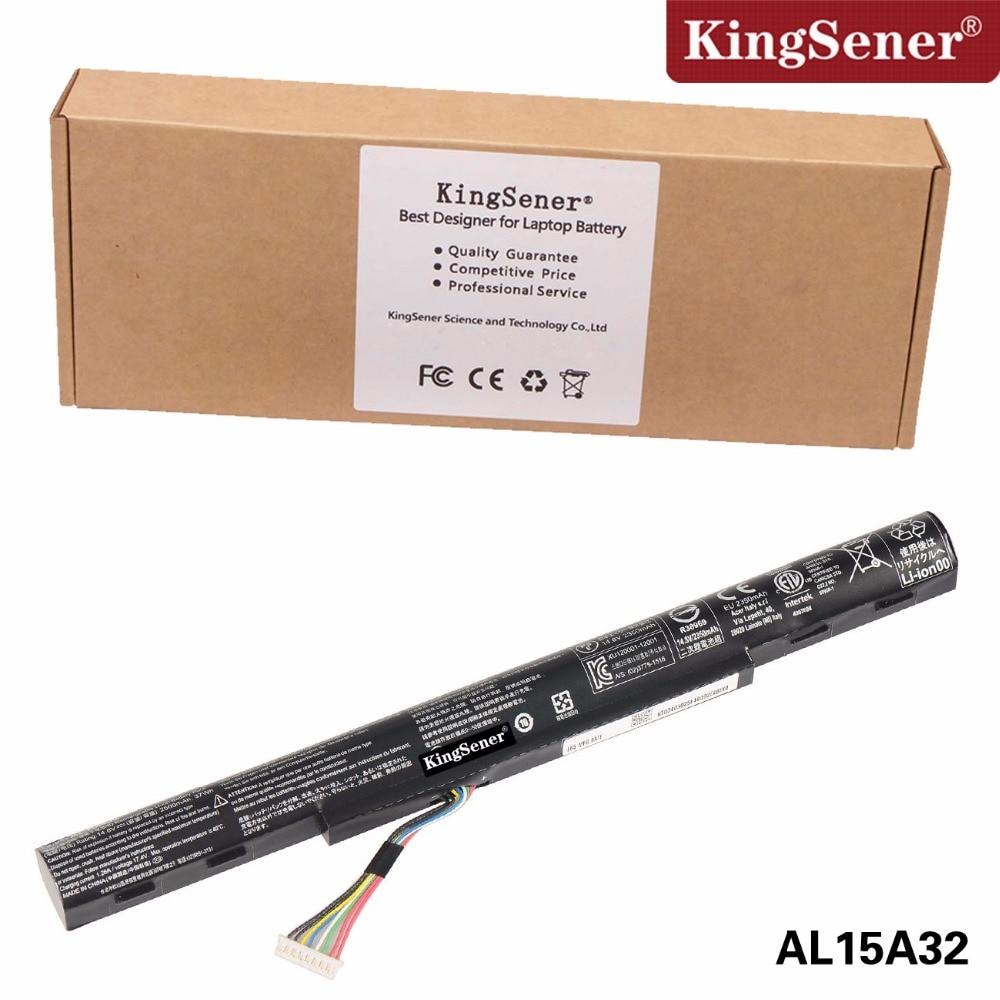 Korea Cell AL15A32 Battery for Acer Aspire E5-422 E5-472G E5-473 E5-473G E5-522 E5-522G E5-532 E5-532T E5-573G E5-553G V3-574G jigu high quality 6 cell laptop battery as10b51 as10b3e as10b5e for acer aspire 3820tg 4820t 4820tg 5820t 5820tg