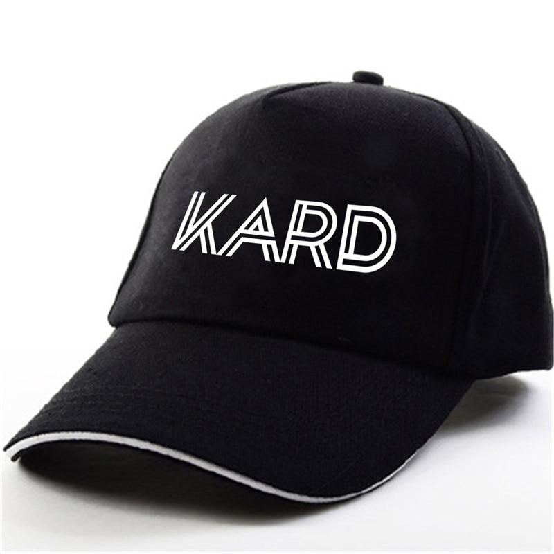 YOUPOP KPOP K.A.R.D Wild KARD 1st Tour Album Concert Don't Recall Black Baseball Cap Hip-hop Cap Men Women Hats got7 1st concert fly in seoul final release date 2017 05 26
