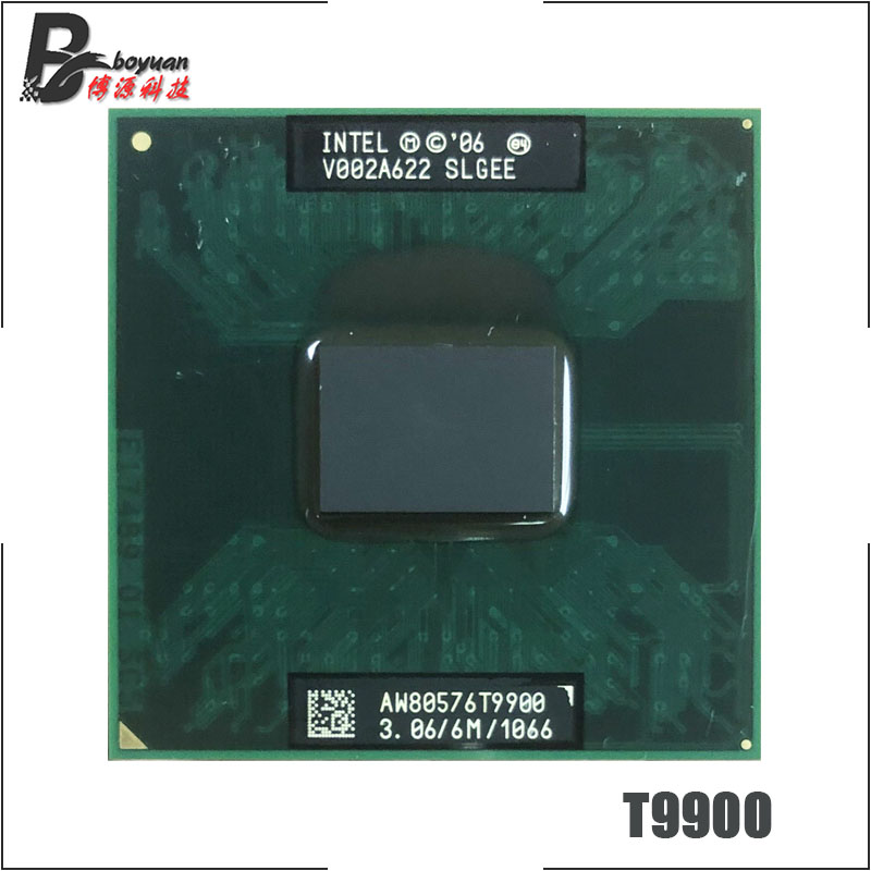 Intel Core 2 Duo T9900 SLGEE 3 0 GHz Dual Core Dual Thread CPU Processor 6M
