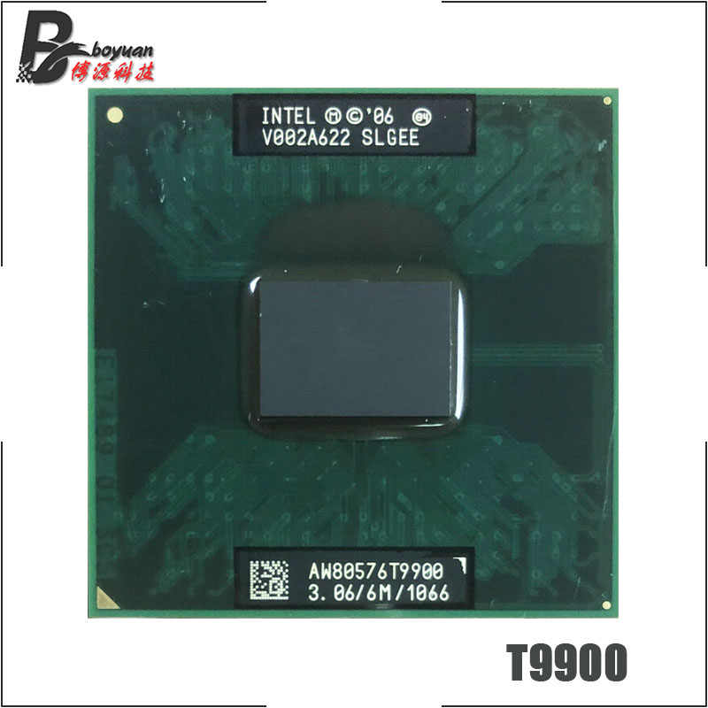 Intel Core 2 Duo T9900 SLGEE 3.0 GHz Dual-Core Dual-Thread di CPU Processore 6 M 35 W socket P