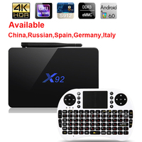 Max 3GB 32GB X92 Amlogic S912 Android 6 0 TV Box Octa Core 5G Wifi 4K