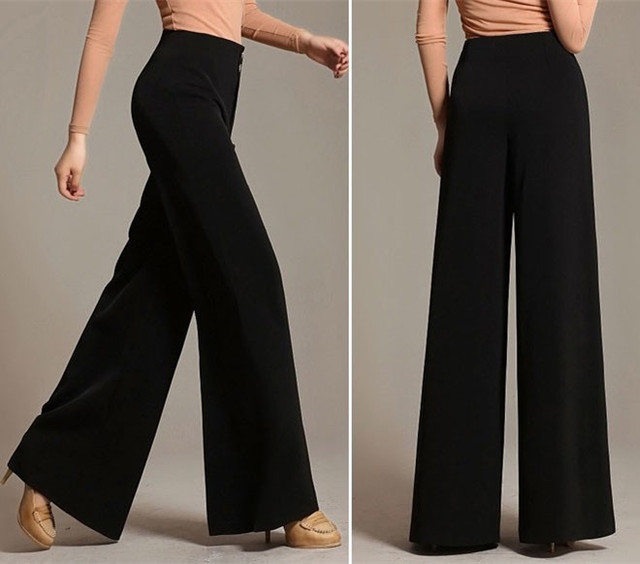 Aliexpress.com : Buy Loose Pants For Women Plus Size Wide Leg ...