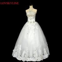 2016 Winter Bride Tube Top Halter Neck Slim Fashion Sexy Chiffon Wedding Dresses Vestidos De Novia