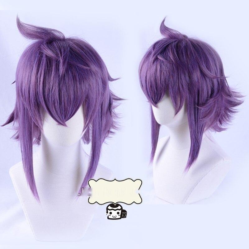 Mirokuji Yuya Purple Wig Halloween Cosplay Re:CREATORS Role Play