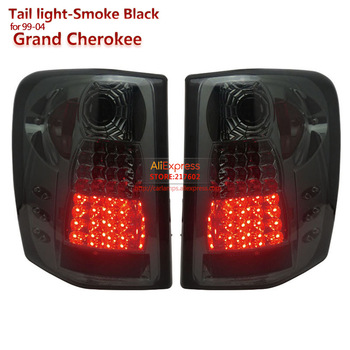 SONAR brand for Grand Cherokee LED Tail light fit for 1999 to 2004 year Car rear lights Assembly Tuning lamps car styling