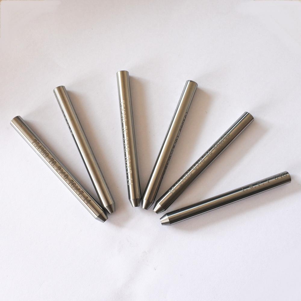 7.14*0.76*76.2mm Waterjet Abrasive Nozzle Waterjet Mixing Tube