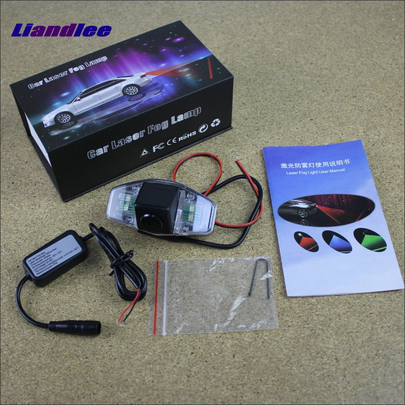Liandlee Tracing Cauda Laser Light For Acura RL RXL / Honda Legend / Daewoo Arcadia Modifiedl Anti Fog Lamps Rear Light car tracing cauda laser light for volkswagen vw jetta mk6 bora 2010 2014 special anti fog lamps rear anti collision lights