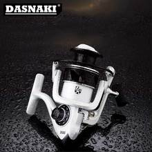 DASNAKI DK1000-7000 type metal spool spinning reel fishing wheel big force knob folding rocker arm Fishing
