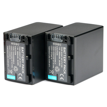LANFULANG 2PCS NP-FV100 NP FV100 Digital Camera batteries for Sony HDR-PJ675 HDR-CX450 HDR-CX455 HDR-CX485 HDR-CX675 HDR-CX625 фото