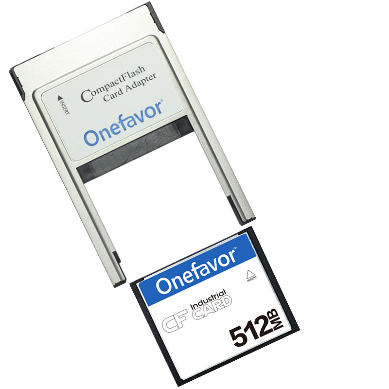 Купить с кэшбэком Small Capacity!!! 32MB 64MB 128MB 256MB 512MB Compact Flash Card Industrial CF Memory card With PCMCIA adapter Type II & Type I