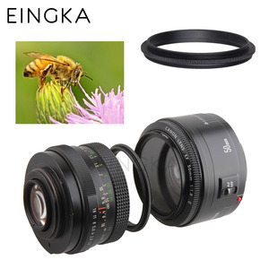 Image 3 - Metal Male thread 52mm to Male thread 58mm Macro Camera Lens Reverse Adapter Ring (35 models provide choice)