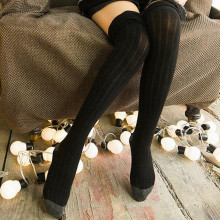 6ce97986c Buy womens cable knit knee sock and get free shipping on AliExpress.com