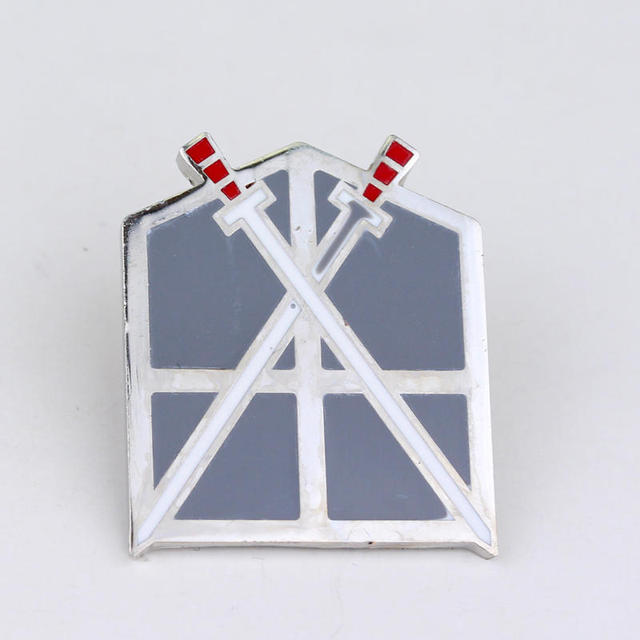 Anime Attack On Titan Legions Badge Unicorn Lapel Pin Brooches