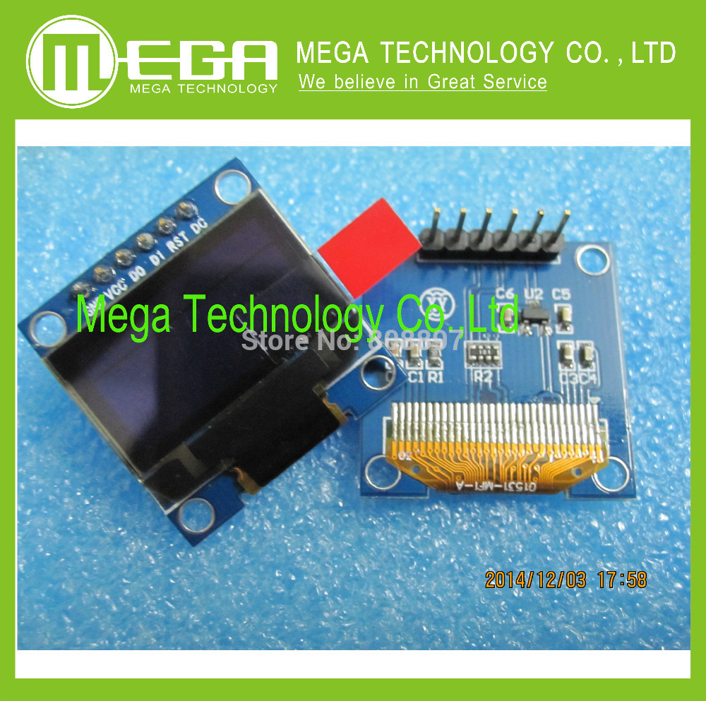 Free Shipping 1PCS 128X64 OLED LCD LED Display Module 0.96