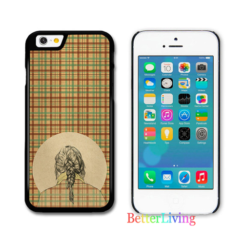 font b Tartan b font Girl Dress fashion cell phone case cover for samsung galaxy