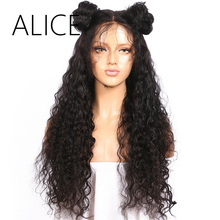 ALICE Pre Plucked Glueless Brazilian Full Lace Human Hair Wigs For ALL Women With Baby Hair